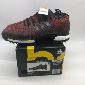 Sz 11.5 Mens Adidas Tour360 Knit Golf Red AC8275